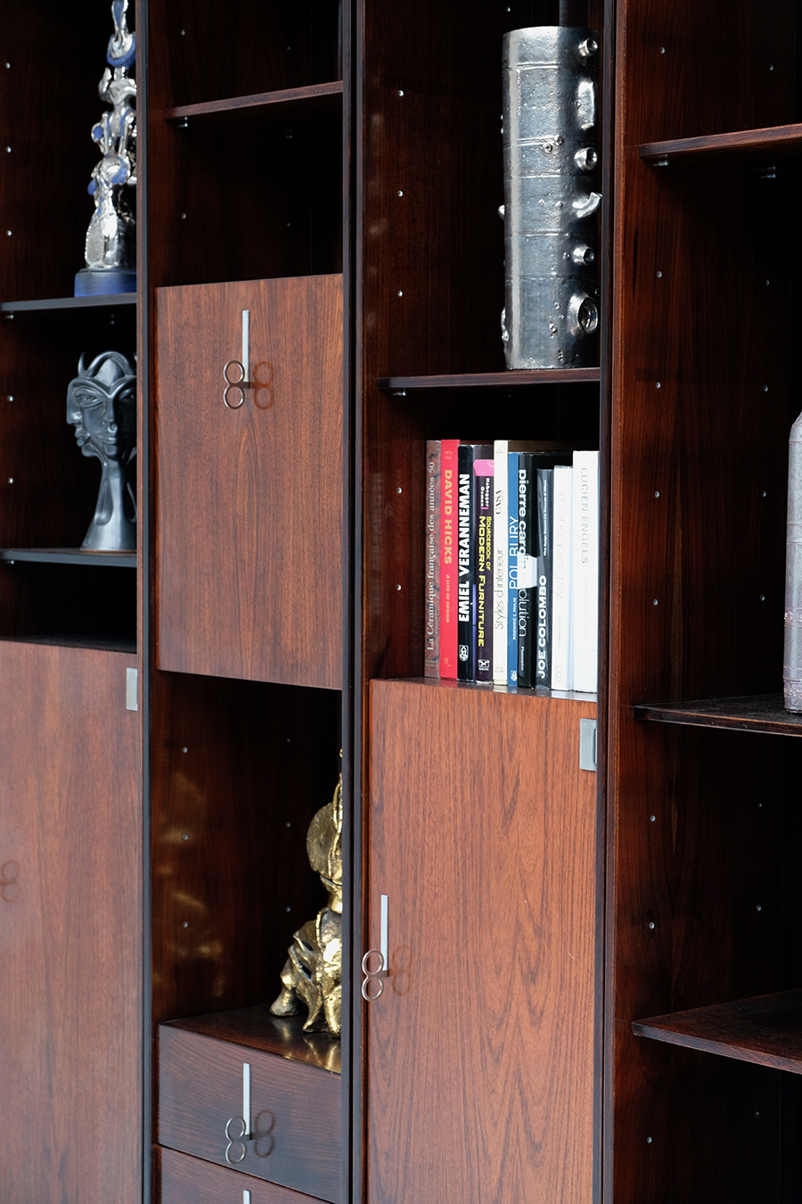 70s Double faced Bookcase / Room dividerimage 9