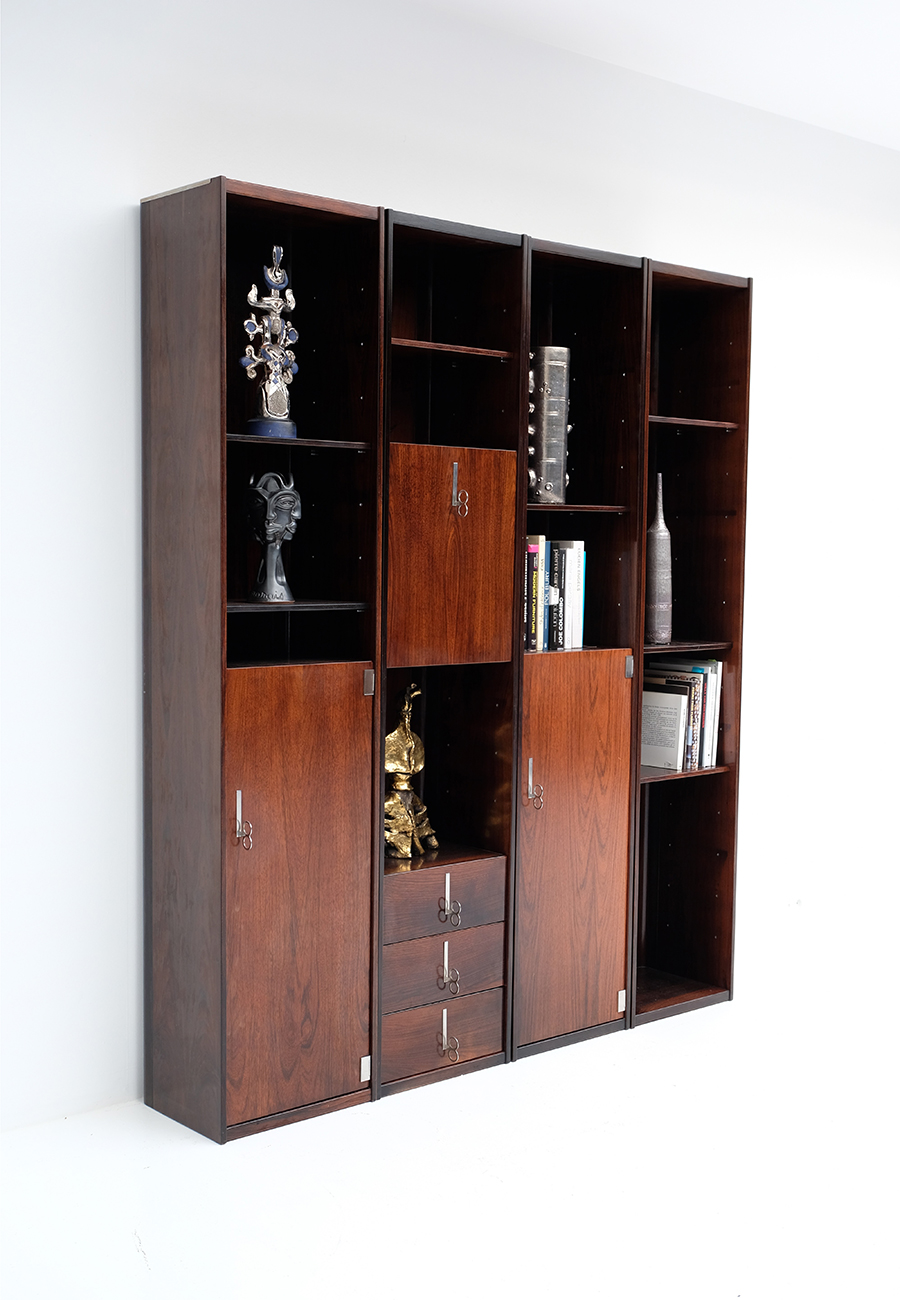 70s Double faced Bookcase / Room dividerimage 5
