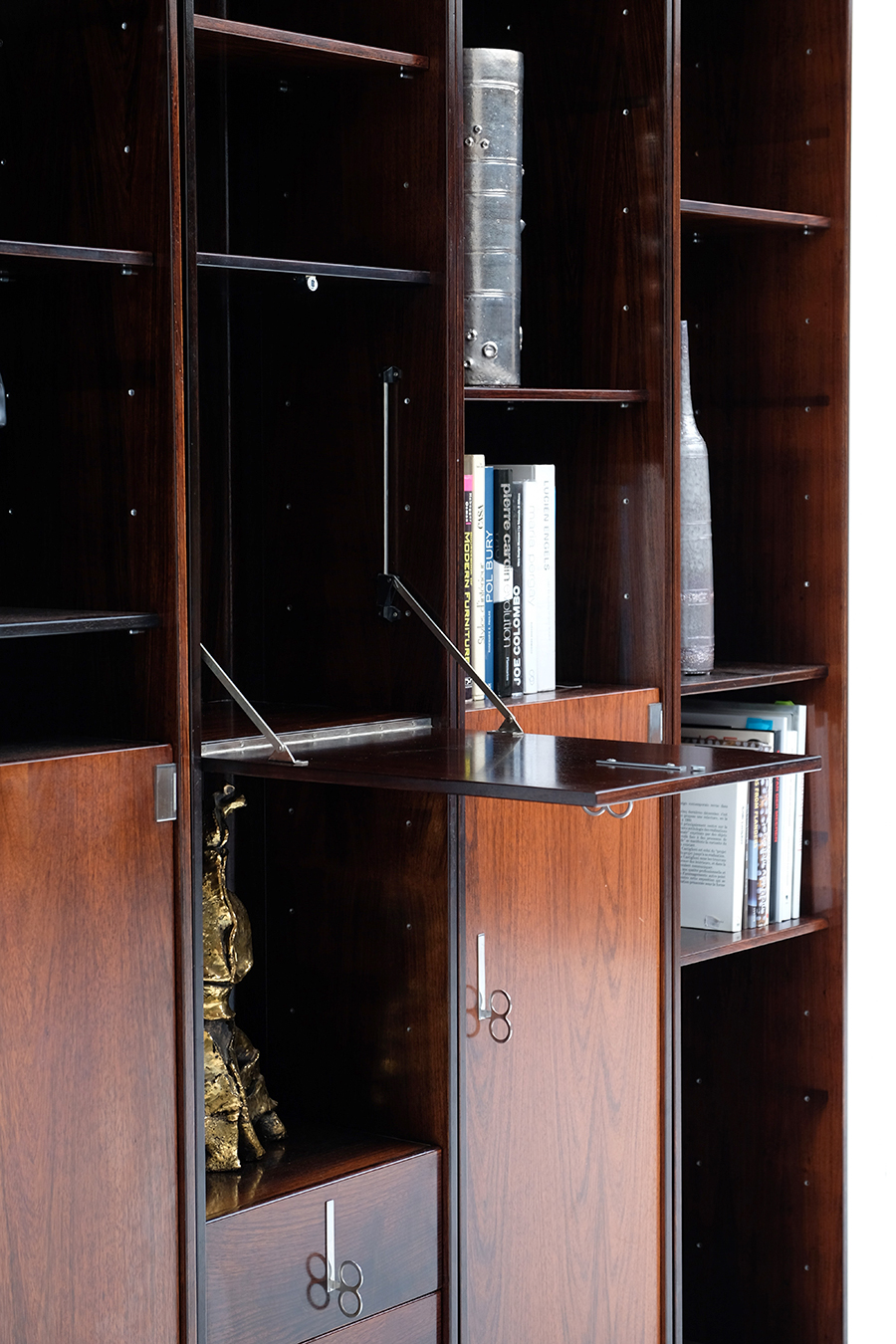 70s Double faced Bookcase / Room dividerimage 6