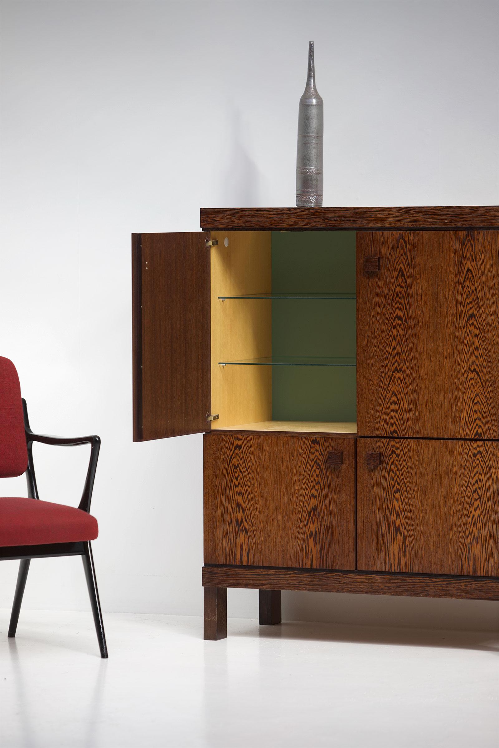 wenge bar  cabinet