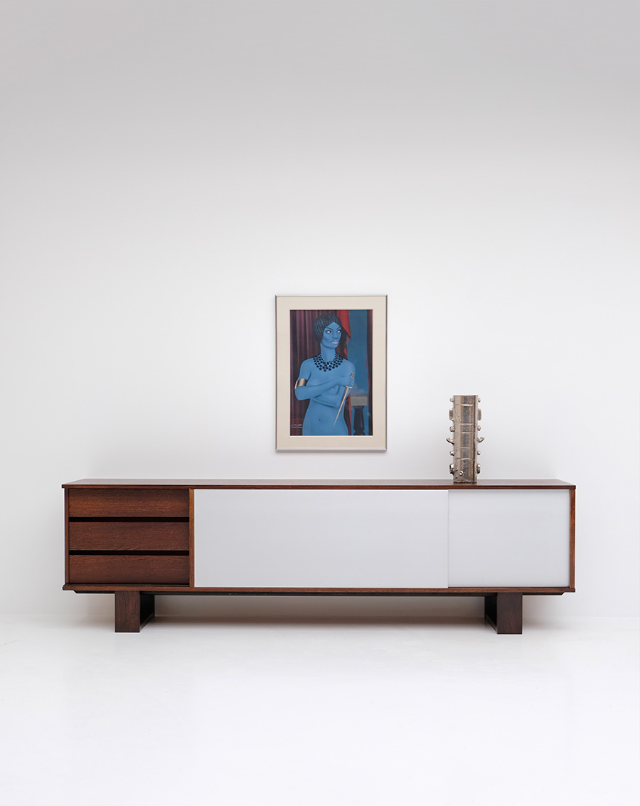 Wengé Sideboard by Bovenkampimage 3