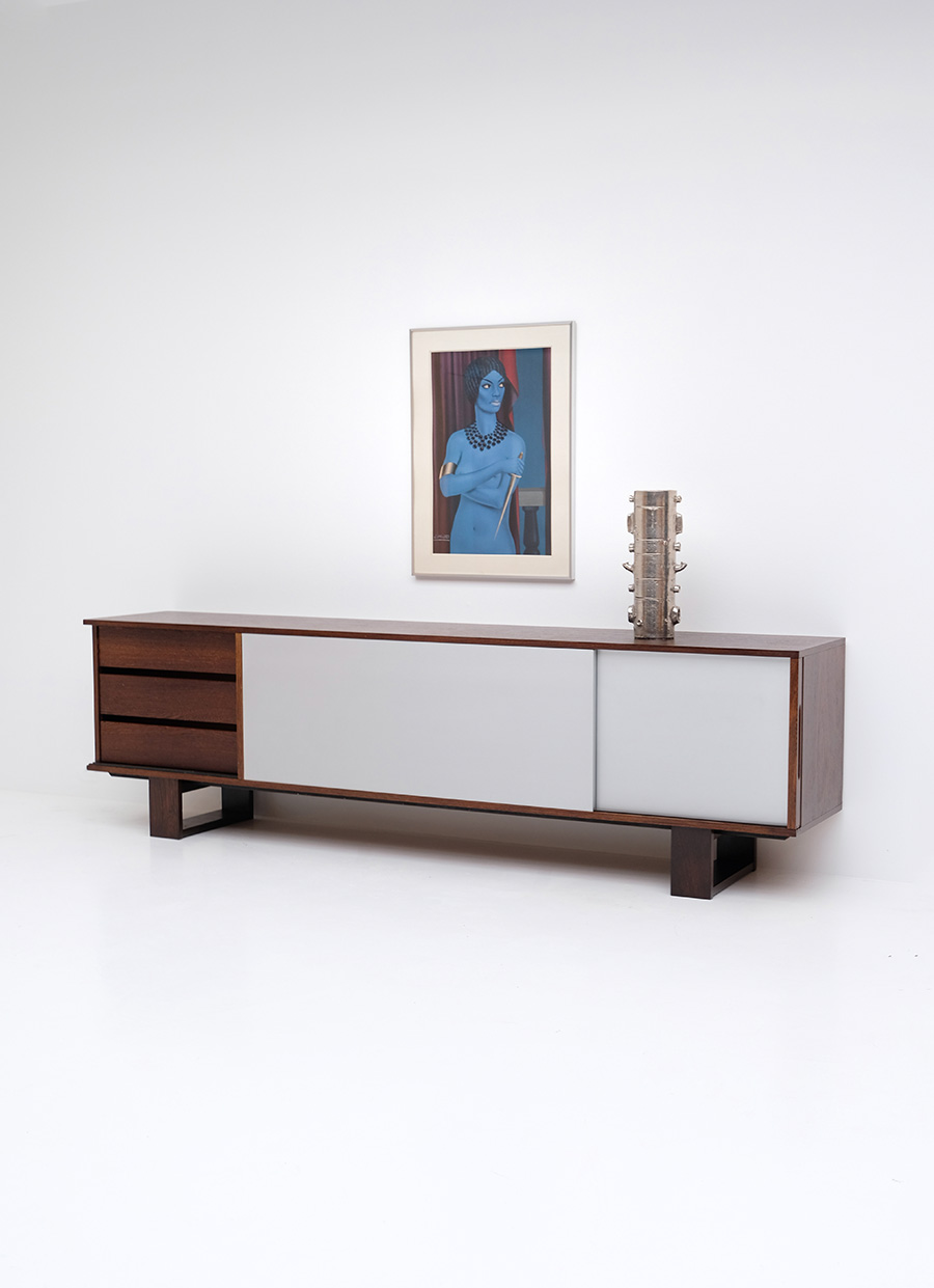 Wengé Sideboard by Bovenkampimage 6