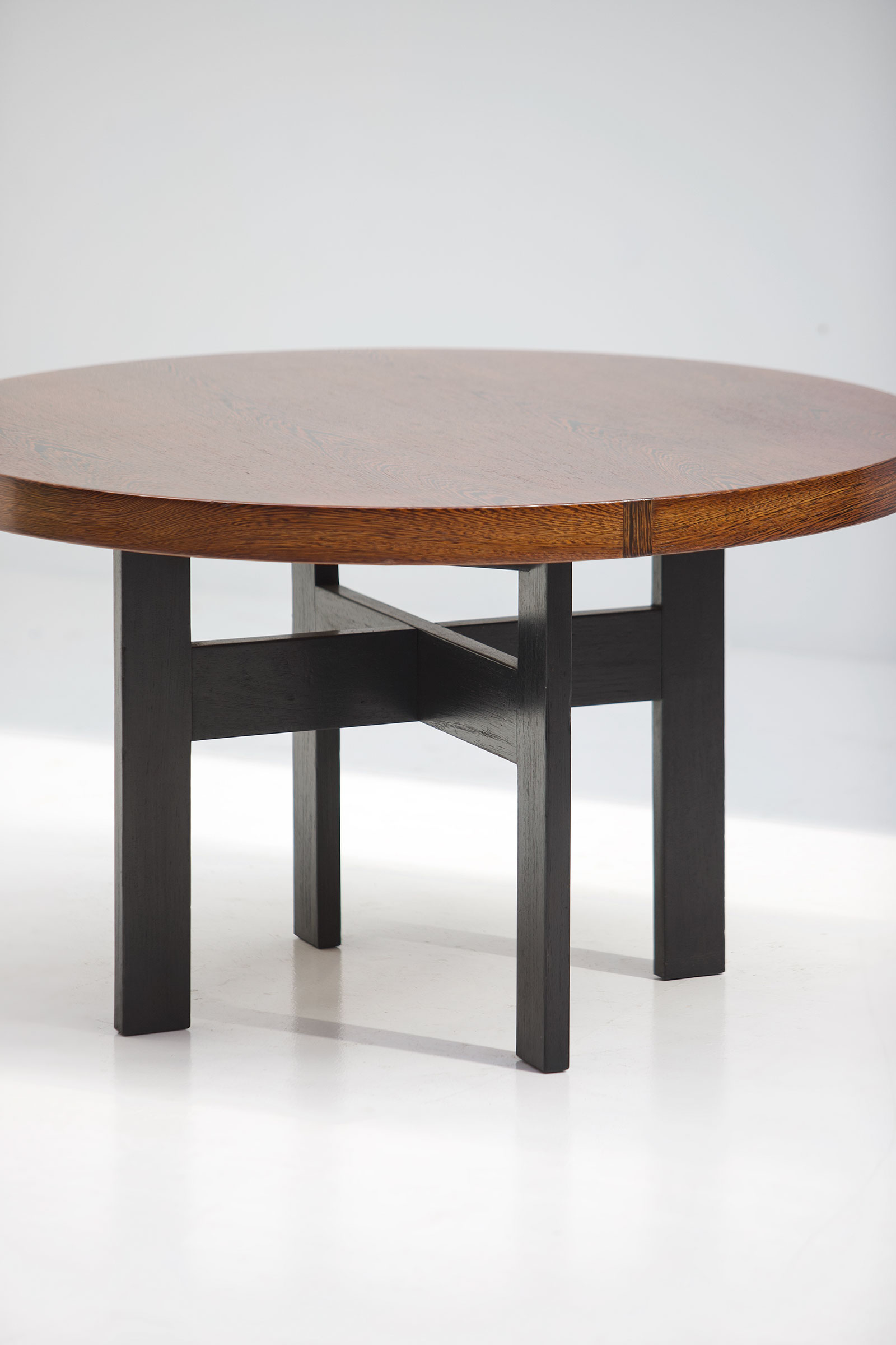 Wenge Round Dining Table
