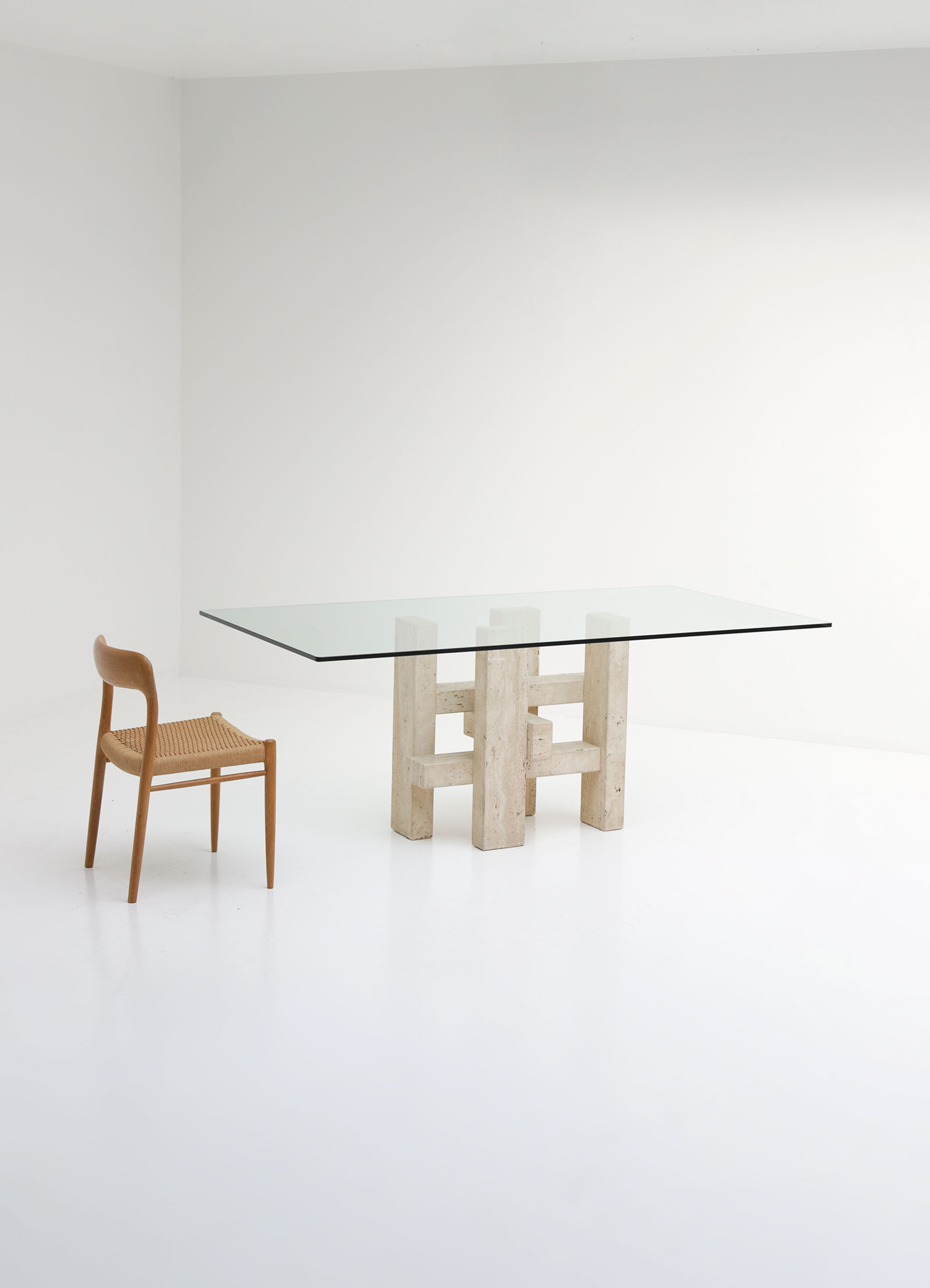 Willy Ballez Dining Table 1970s