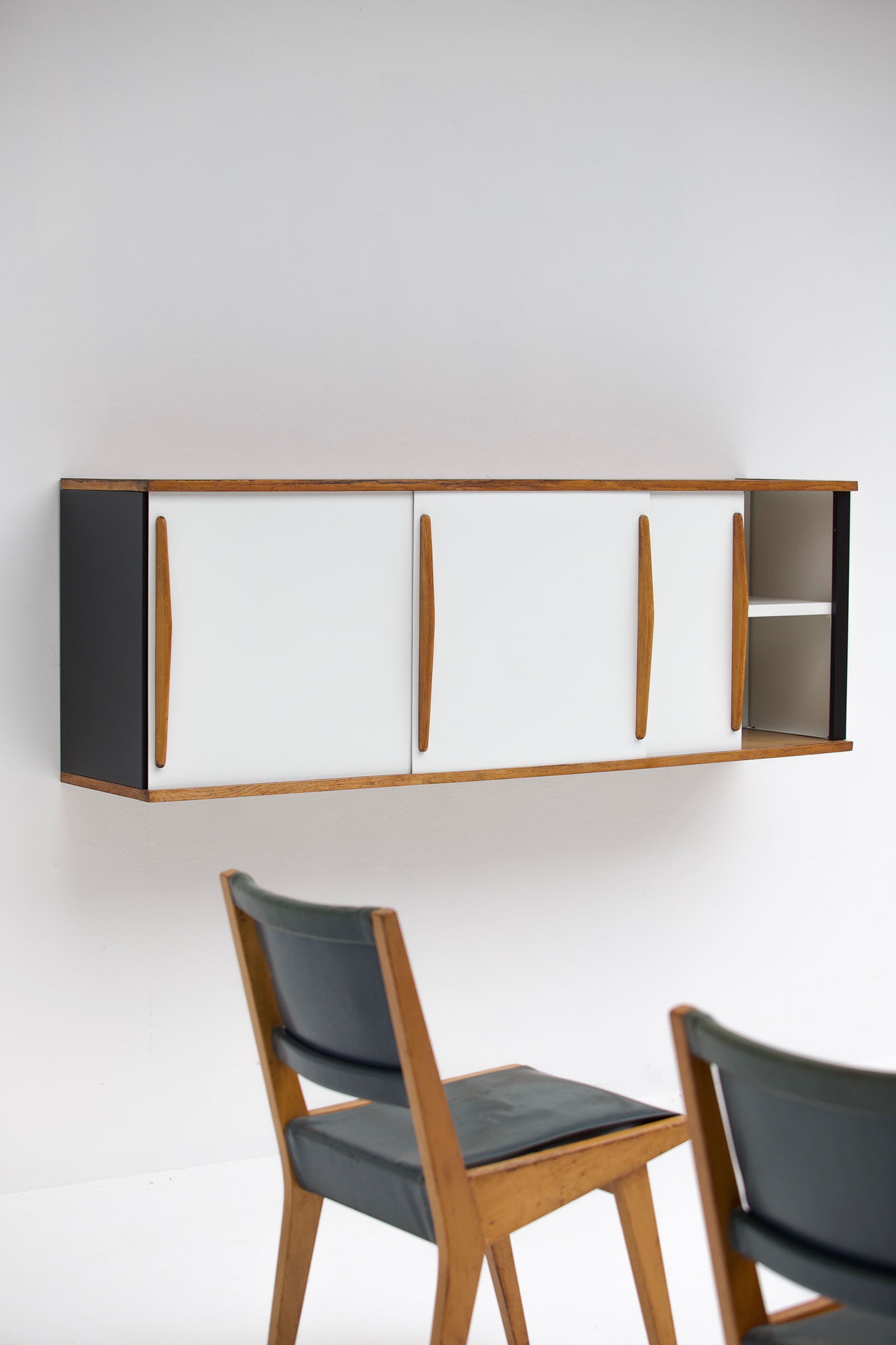 Willy Van Der Meeren Wall Mounted Cabinetimage 14