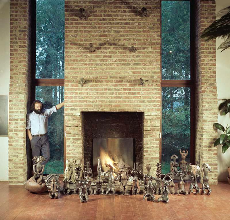 Yves Rhaye 1972 Ceramic Sculpture