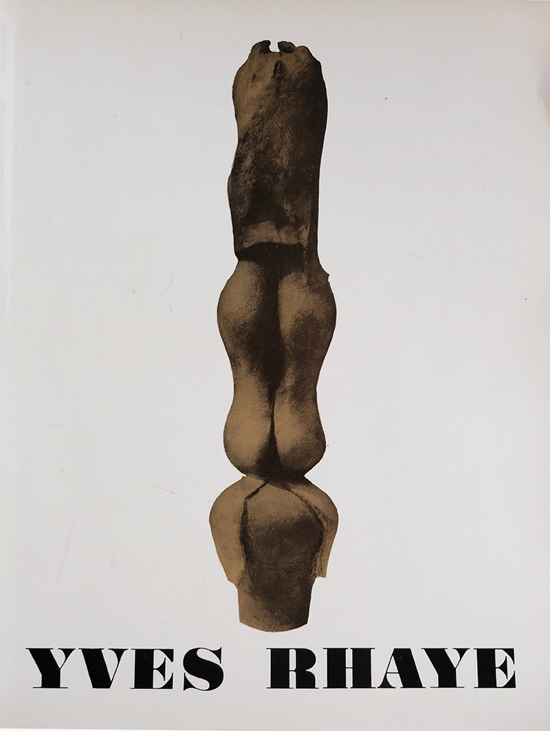 Yves Rhaye 1972 Ceramic Sculpture
