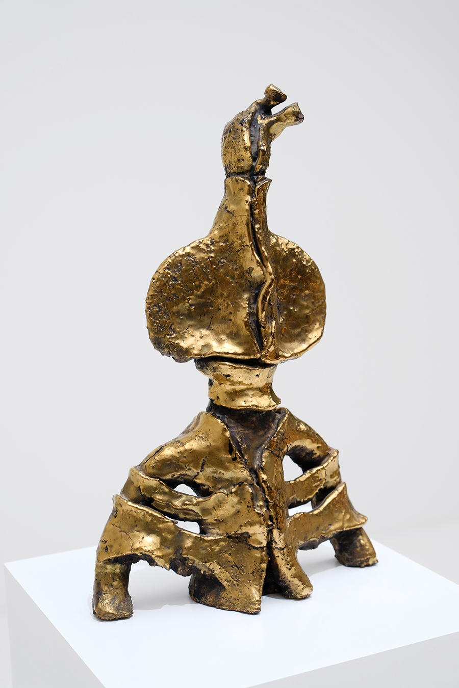 Yves Rhaye ceramic sculpture 1969