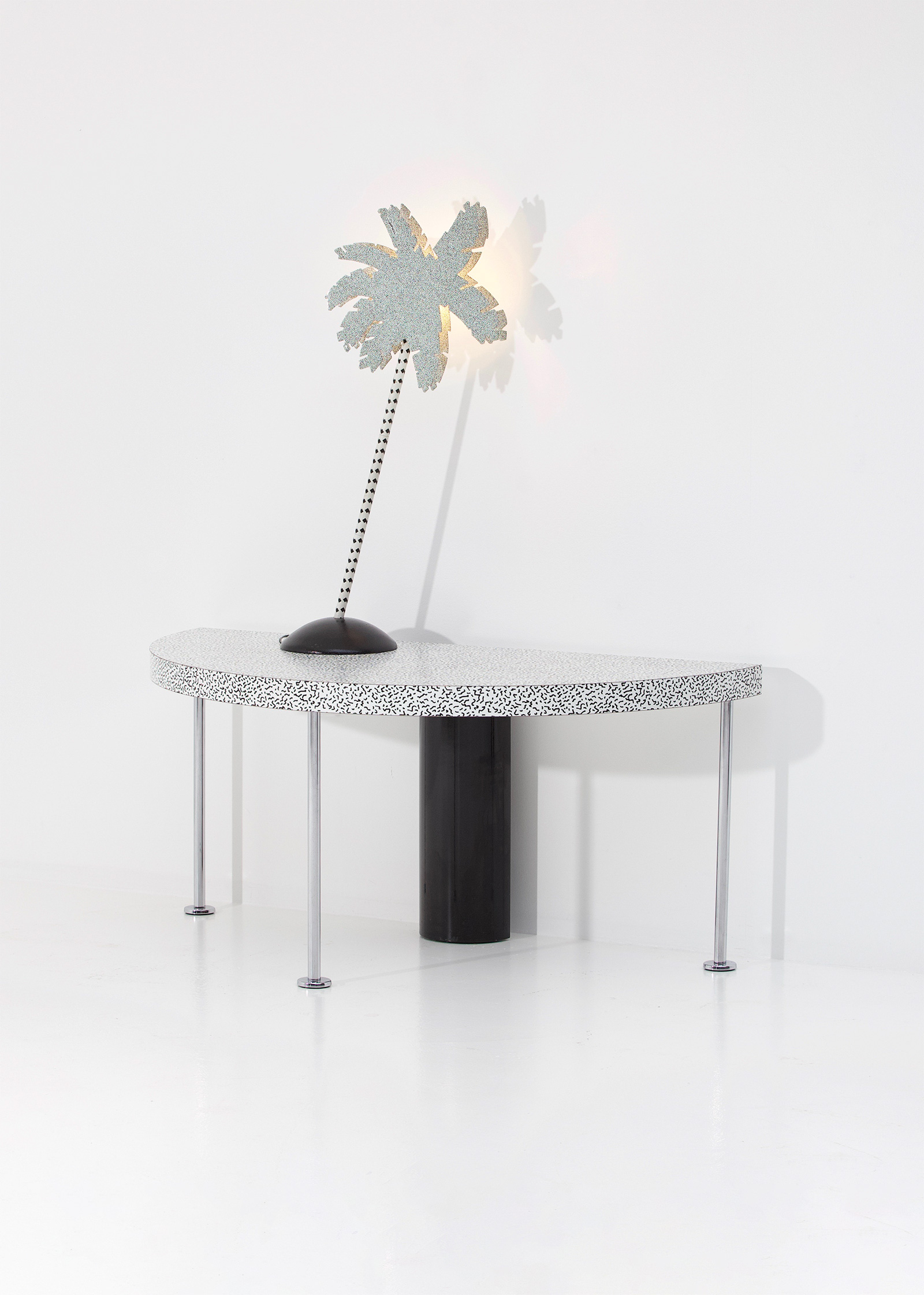 Ettore Sottsass Side Table for Zanottaimage 1