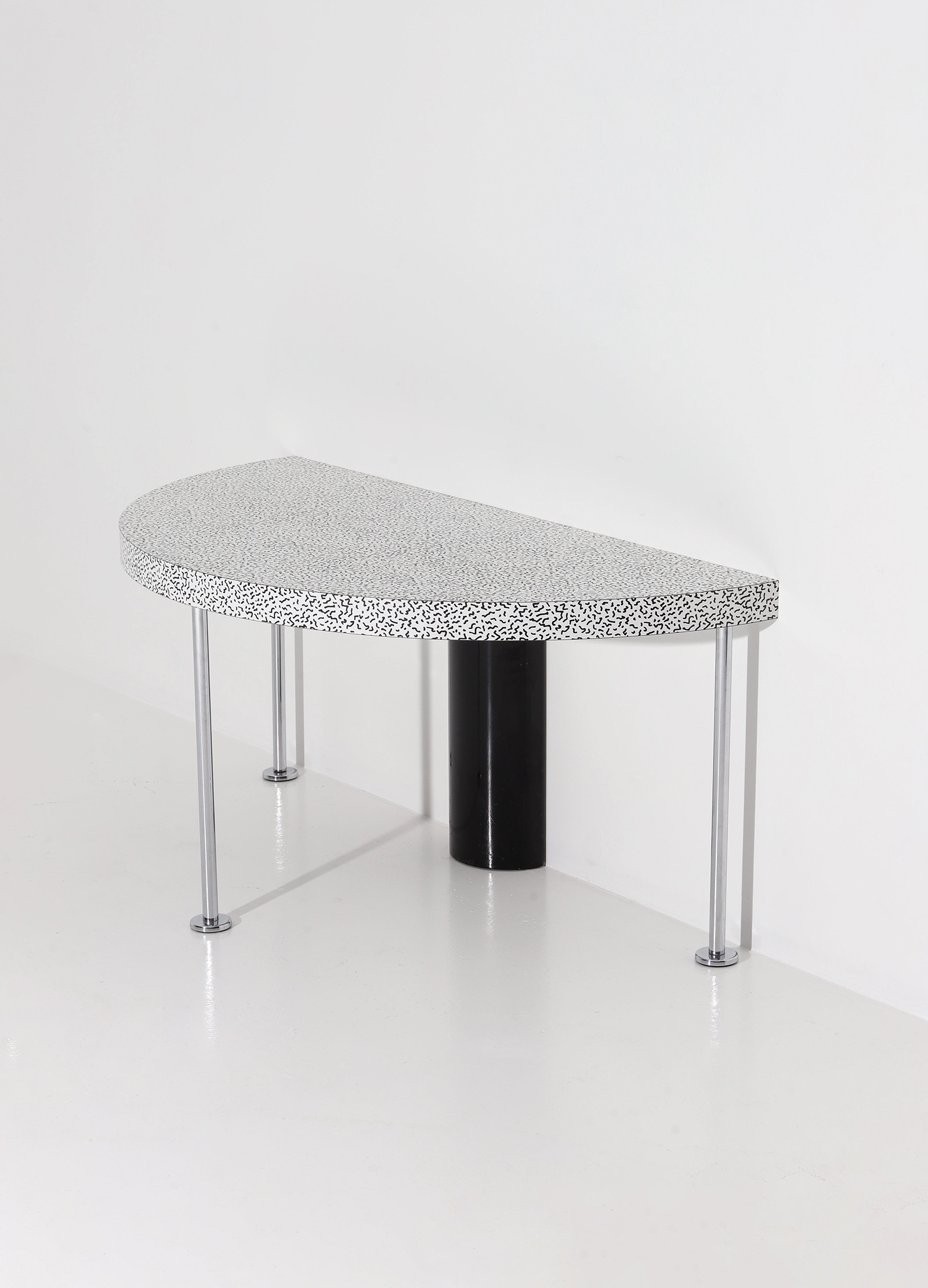Ettore Sottsass Side Table for Zanottaimage 2