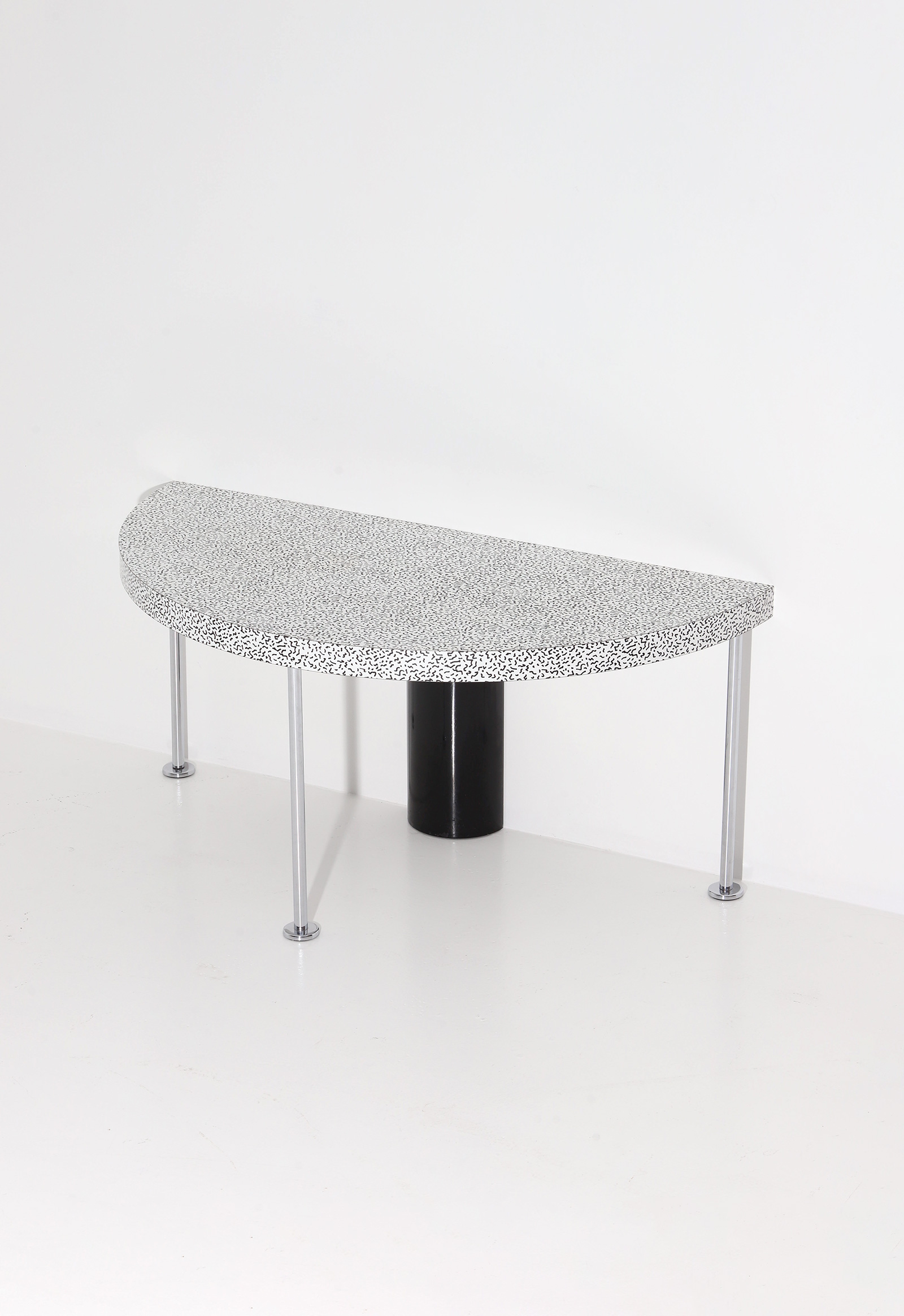 Ettore Sottsass Side Table for Zanottaimage 7