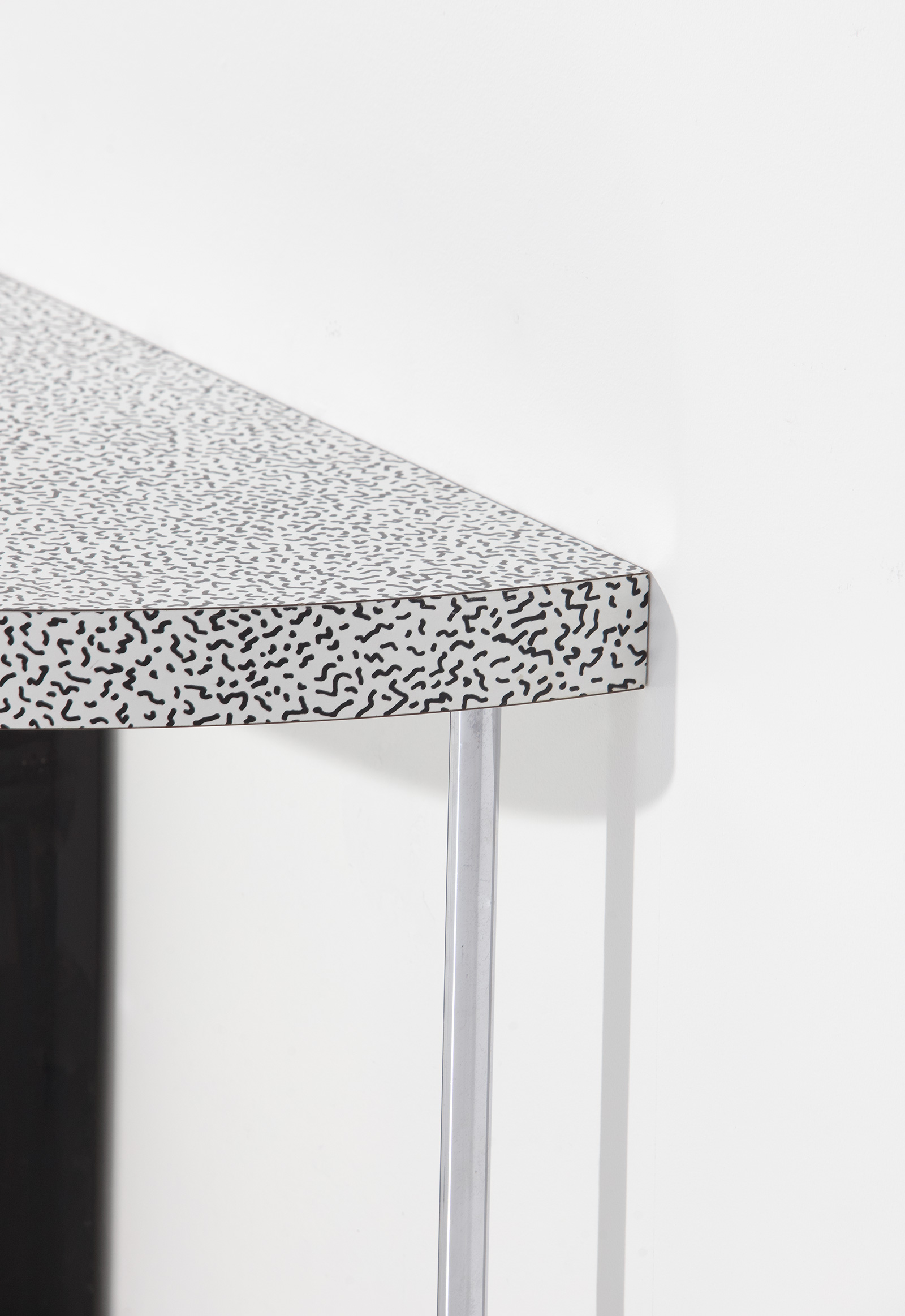 Ettore Sottsass Side Table for Zanottaimage 4