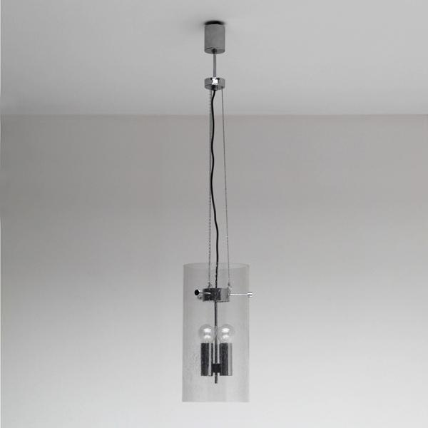 Limburg Glashütte hanging glass lamp
