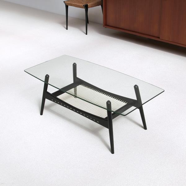Modern 1950s coffee table