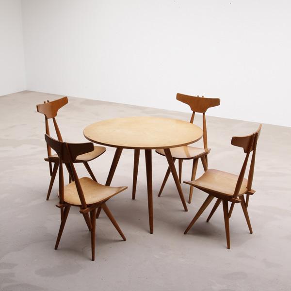 City Furniture 1950s Dining Boer Dutch Design