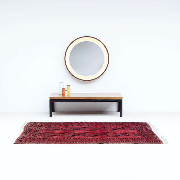 ROSEWOOD COFFEE TABLE BY MILO BAUGHMAN FOR THAYER COGGINS USA