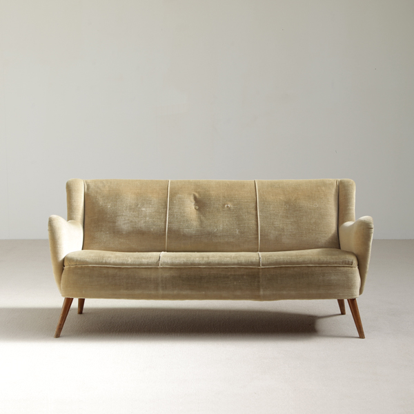 ERNEST RACE 3 SEAT COMFORTABEL 50S SOFA
