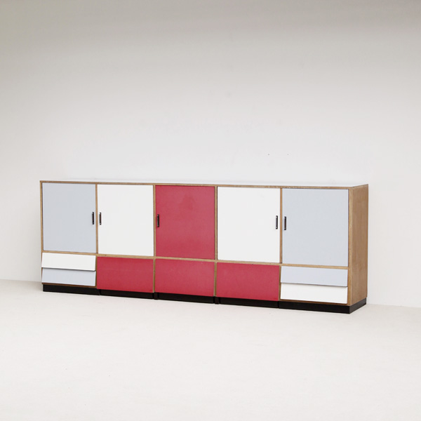 BUILD ON REQUEST XXL 50S SCHOOL  SIDEBOARD