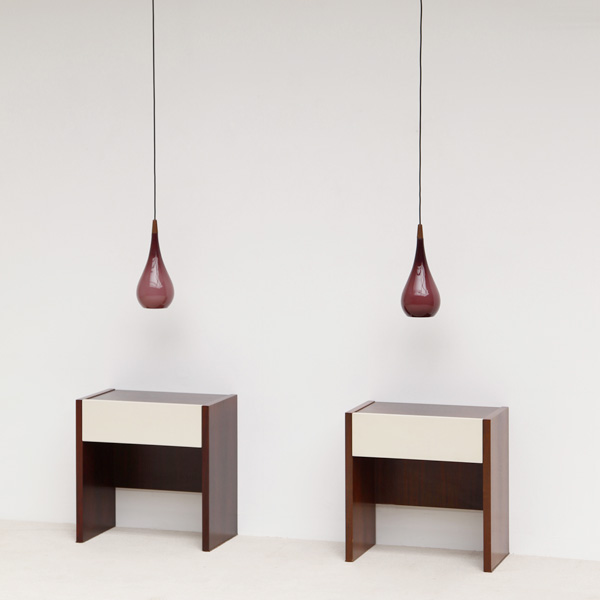 DANISH DOUBLE TEARDROP HANGING LAMP's