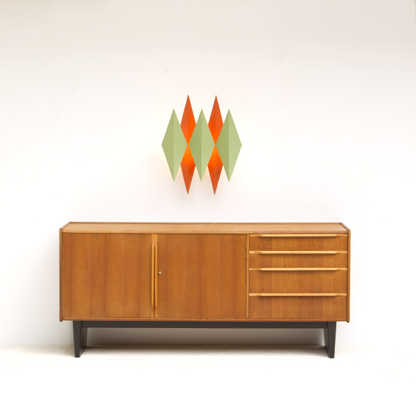 CEES BRAAKMAN SIDEBOARD FROM THE 'OAK' SERIES 1950s