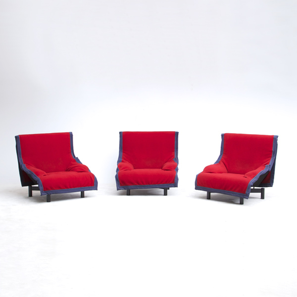 Sindbad  Armchairs by Vico Magistretti for Cassina