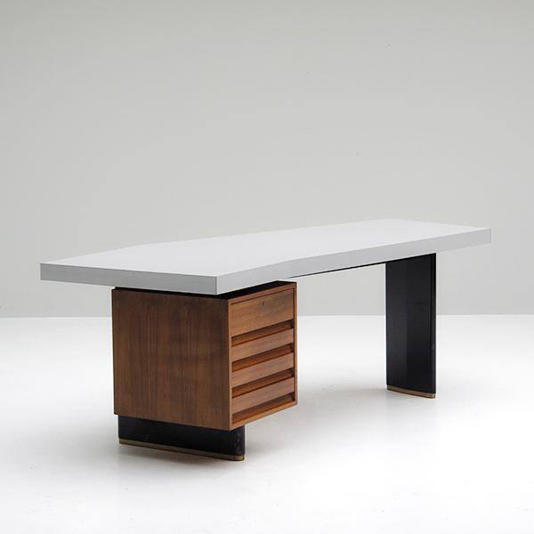 City Furniture Jos De Mey Rare Boomerang Office Desk