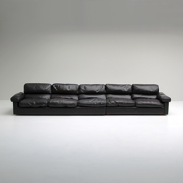 Petronio 5 seat Sofa by Tito Agnoli for Poltrona Frau