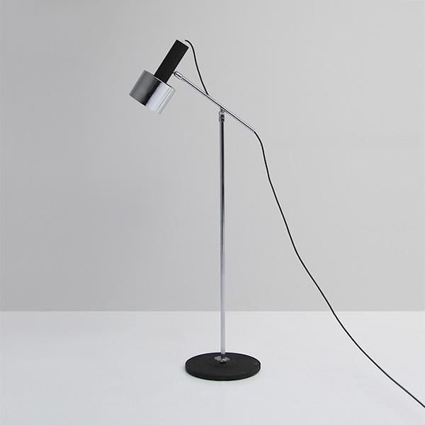 Adjustable floor reading lamp 1960s