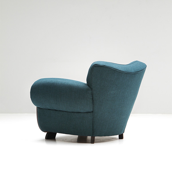 Belgium Art-Deco club chair