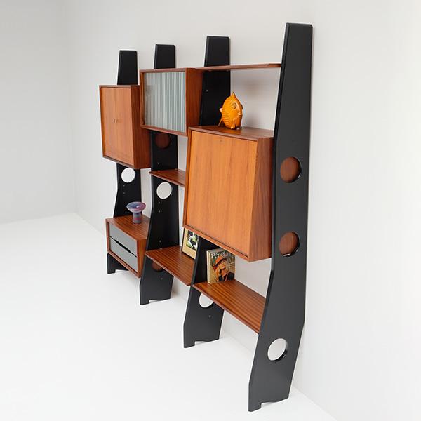 1960s rare wall unit