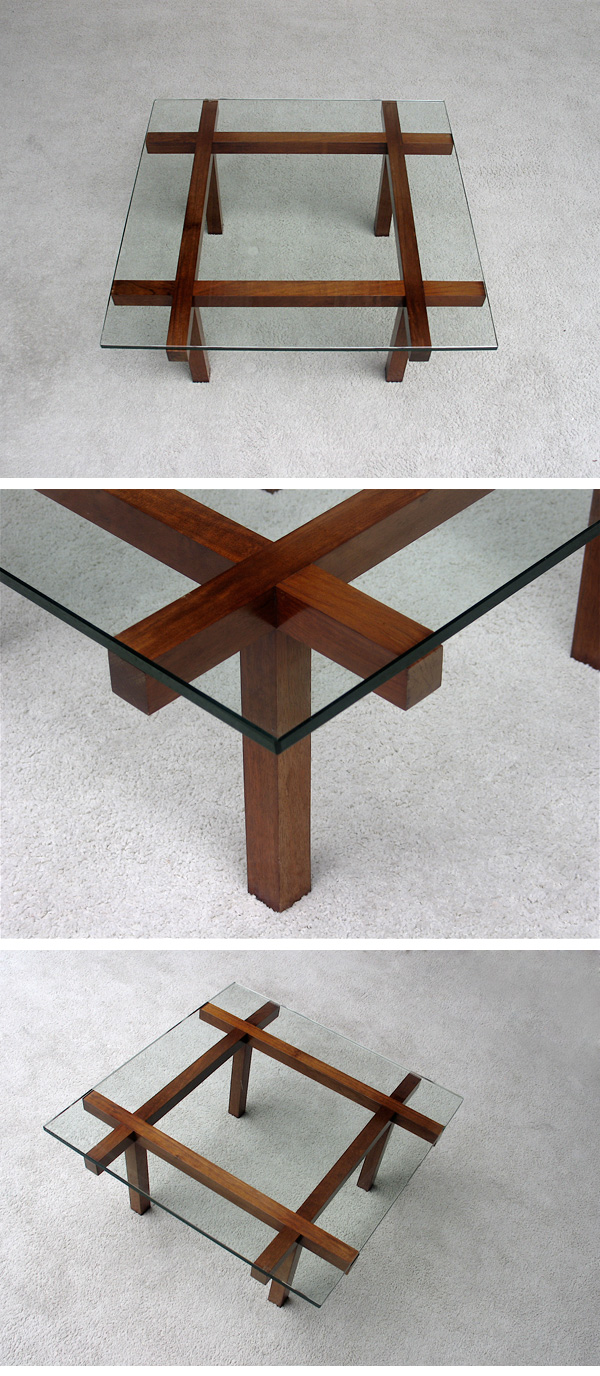 1960s, Alfred, Hendrickx, coffee, table, Belform