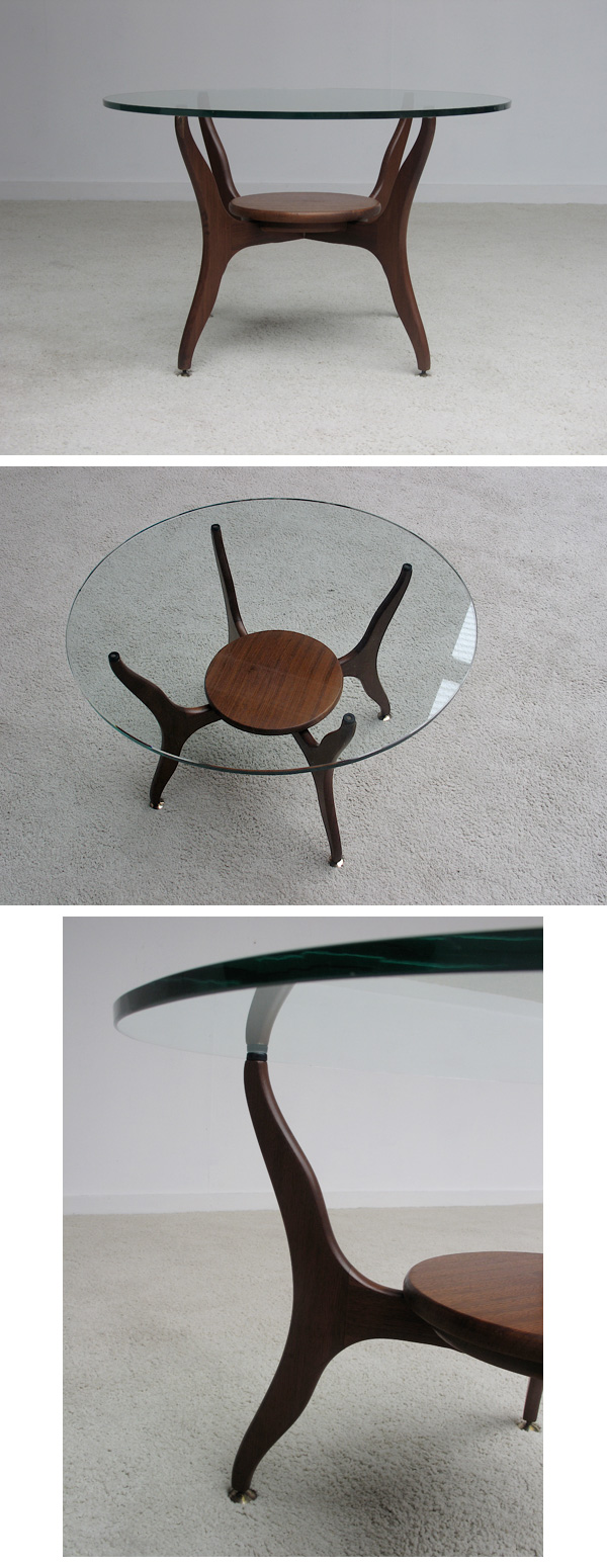 50s, vladimir, kagan, style, symmetric, coffee, table