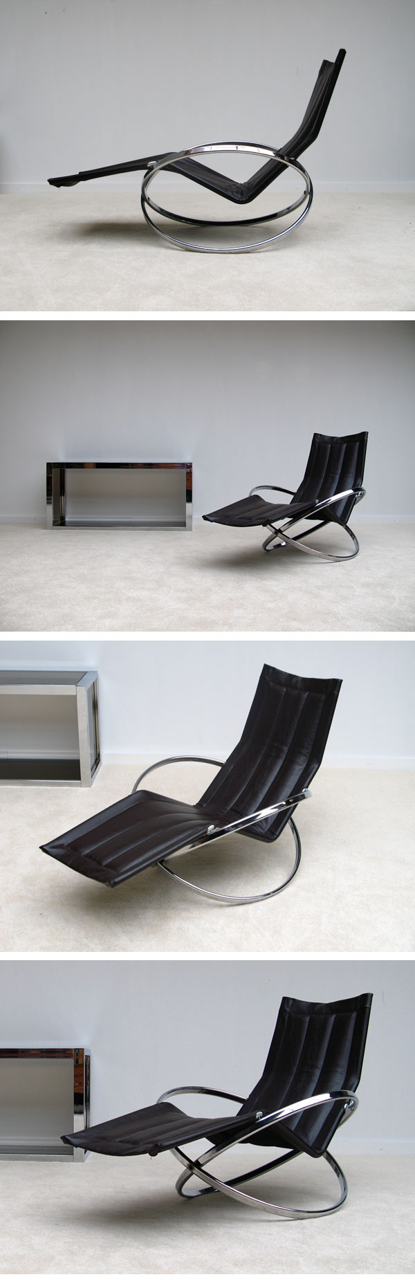 1970, JET STAR, rocker-relaxer ,chair, Roger Lecal