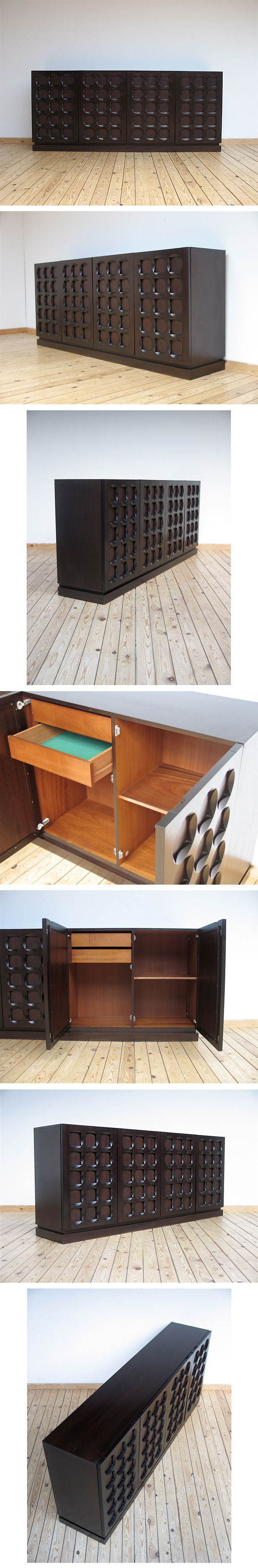 modernist, sideboard, knoll, Gio Ponti, Parzinger, Dunbar, eames, 1970