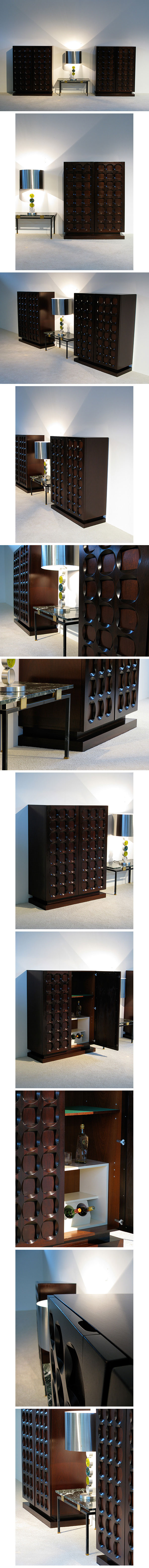 1970, graphic, Belgium, modern, sideboards, cabinet