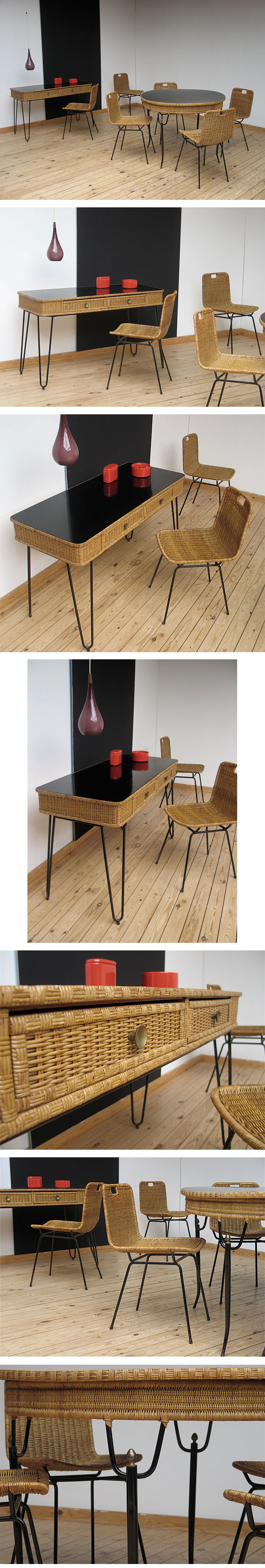 eames, brazil, sao paulo, table, desk, 1950, 1960,