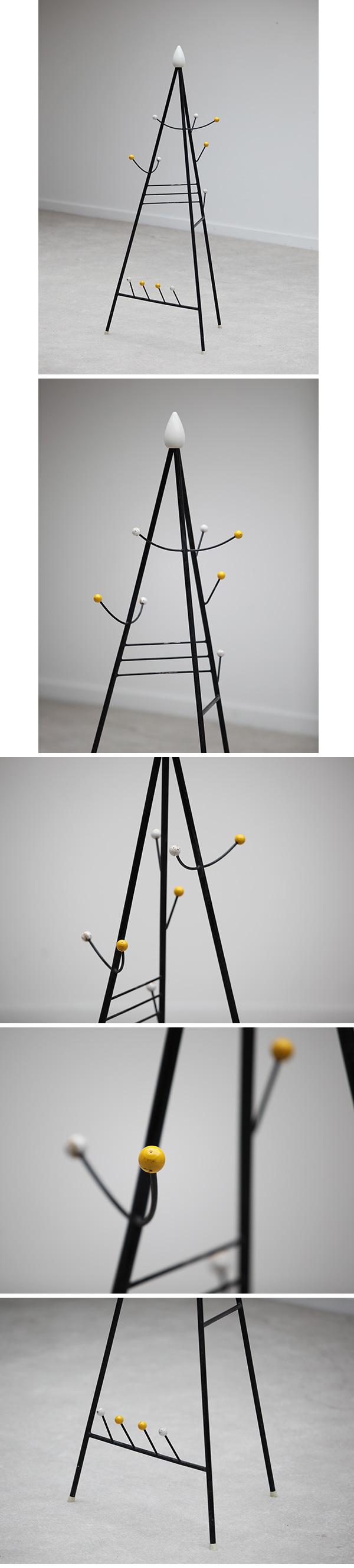 1950s, Joan Miro, inspired, atomic, coat hanger, vintage, design