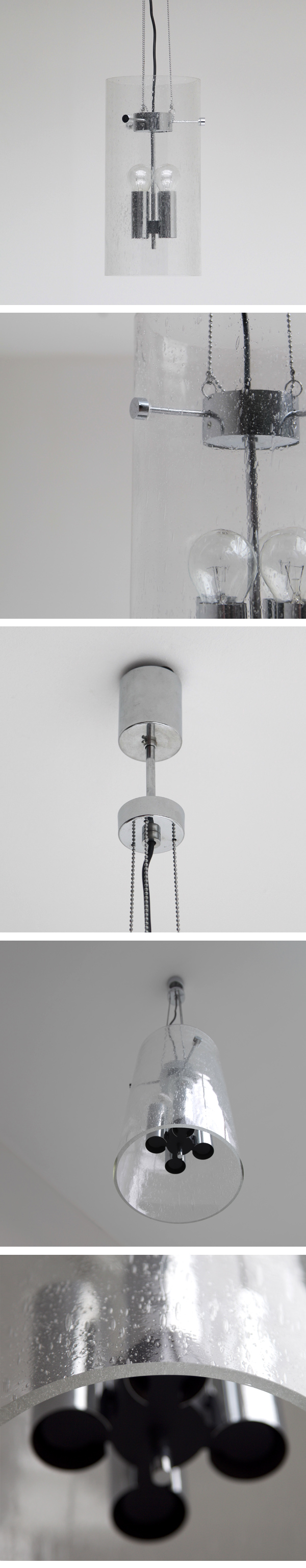 Limburg, Glashütte, hanging, glass, lamp