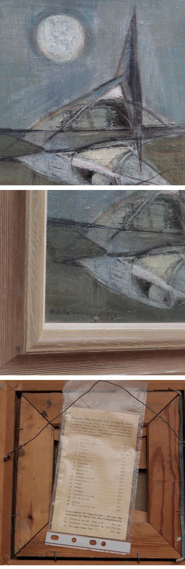 Margareta Bille Hofvander, Abstrakt, komposition