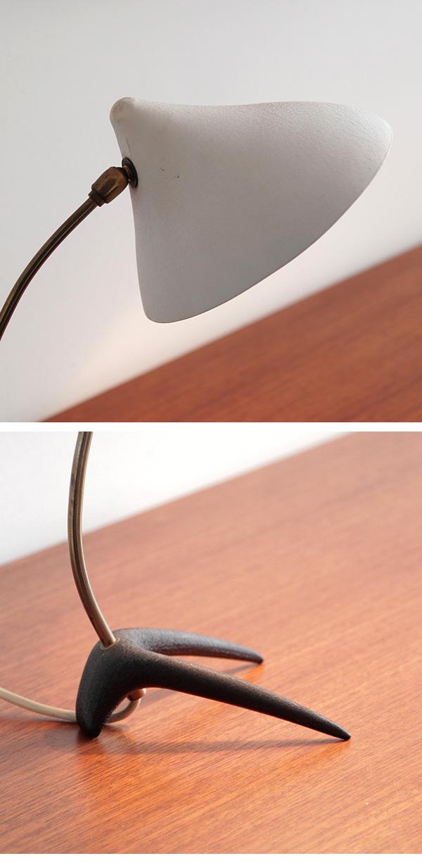 1950s, desk, lamp, design,  Italian
