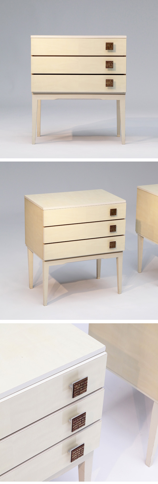 decorative, side, tables, 1960s