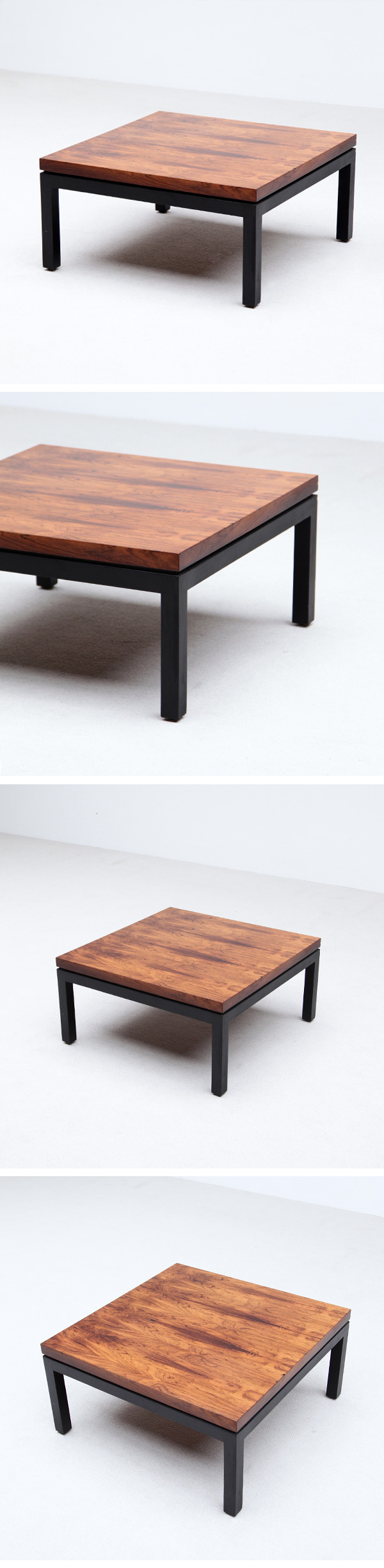 Rosewood, Coffee Table,Milo Baughman, Thayer Coggins, USA