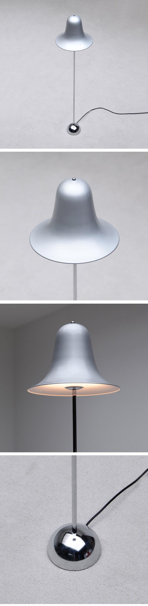 Verner Panton, Pantop, floor lamp, Verpan, luber
