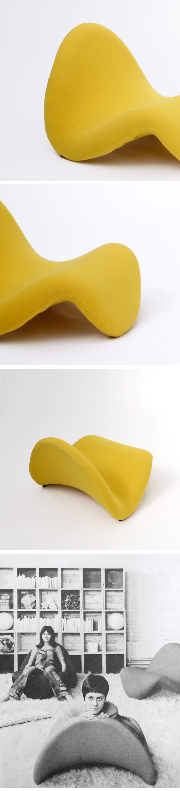 PIERRE PAULIN, TONGUE, CHAIR, ARTIFORT