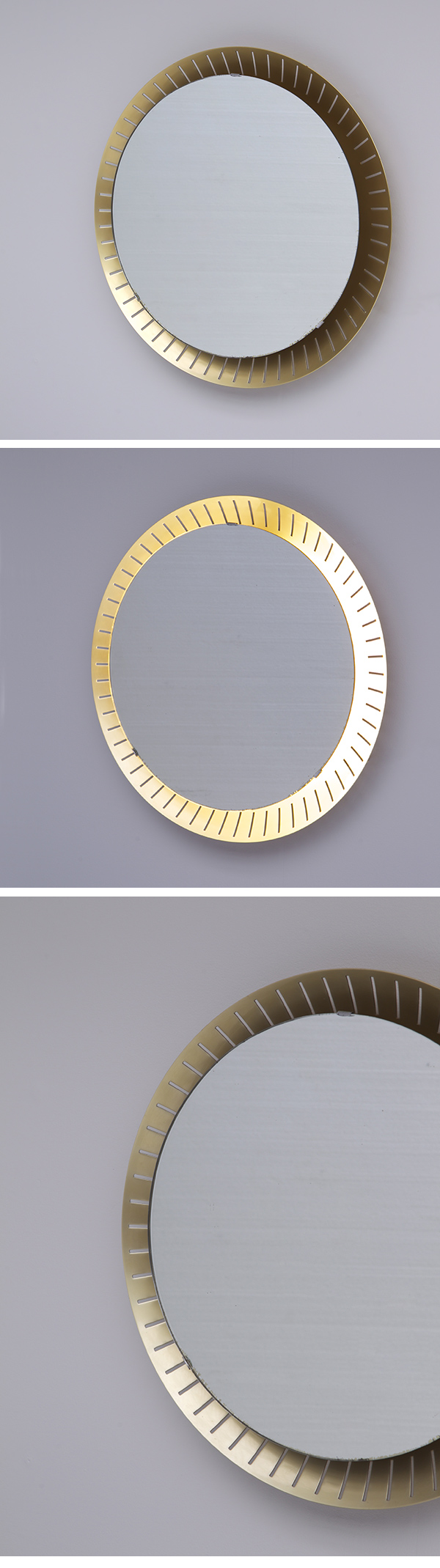 Italian, Back Lit, Mirror, 1960s