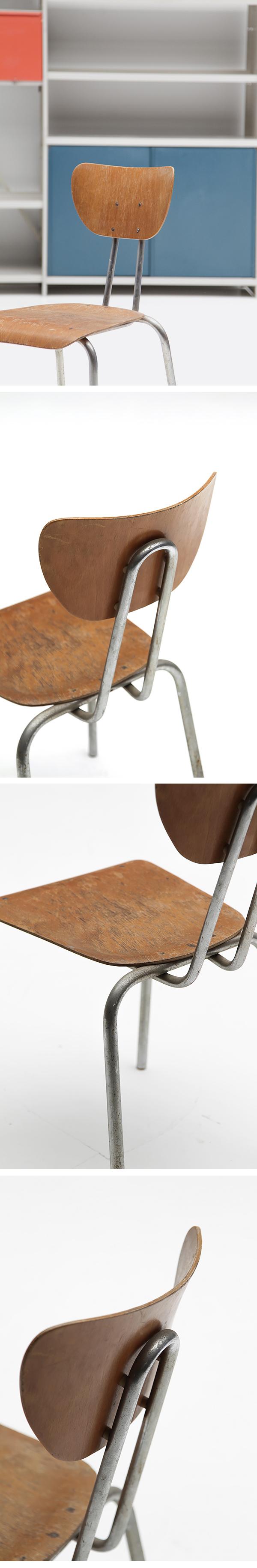 Rare, 1950s, chrome, Tubax, chair