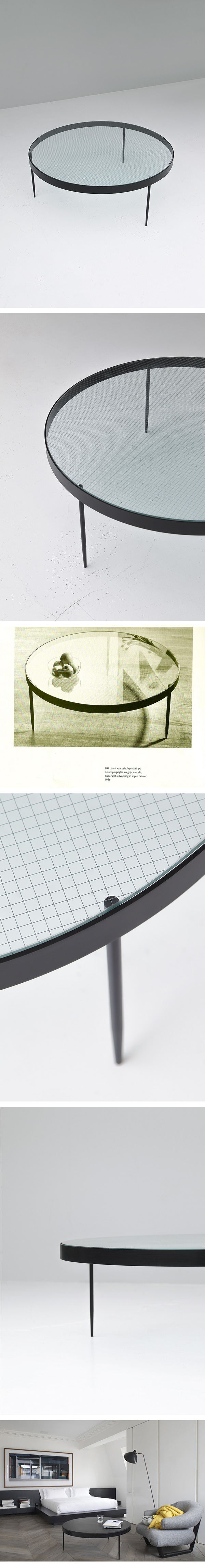 Jannie Van Pelt, coffee table, 1950s, modernist, dutch, design