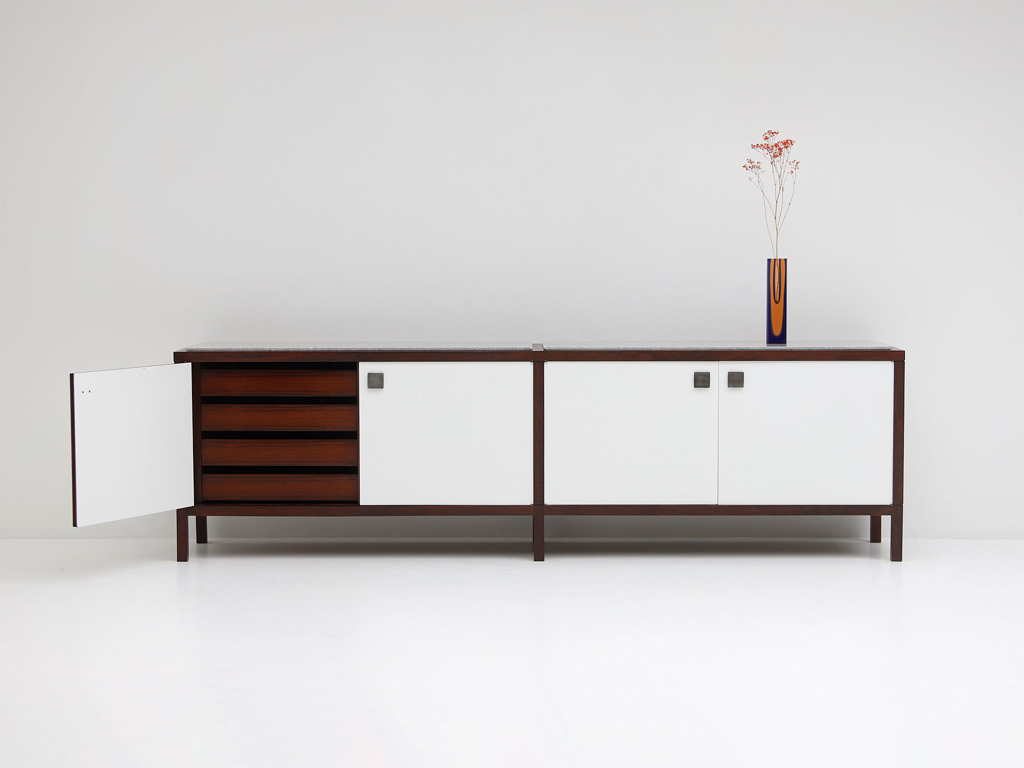 Alfred Hendrickx Rare two sided formica Sideboard