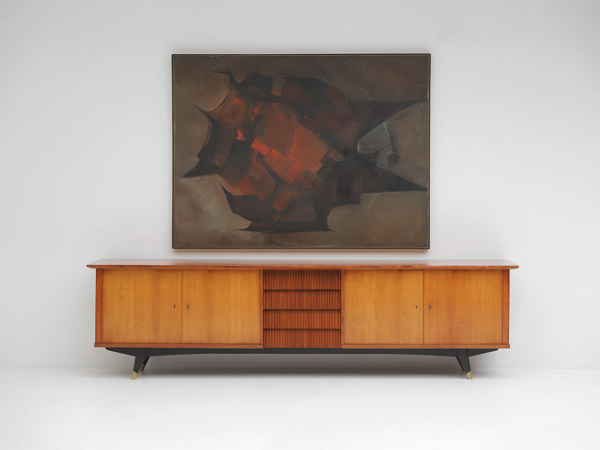 Exceptional Large 1950's Sideboard