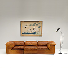DURLET THREE SEAT SOFA MADE IN BELGIUM